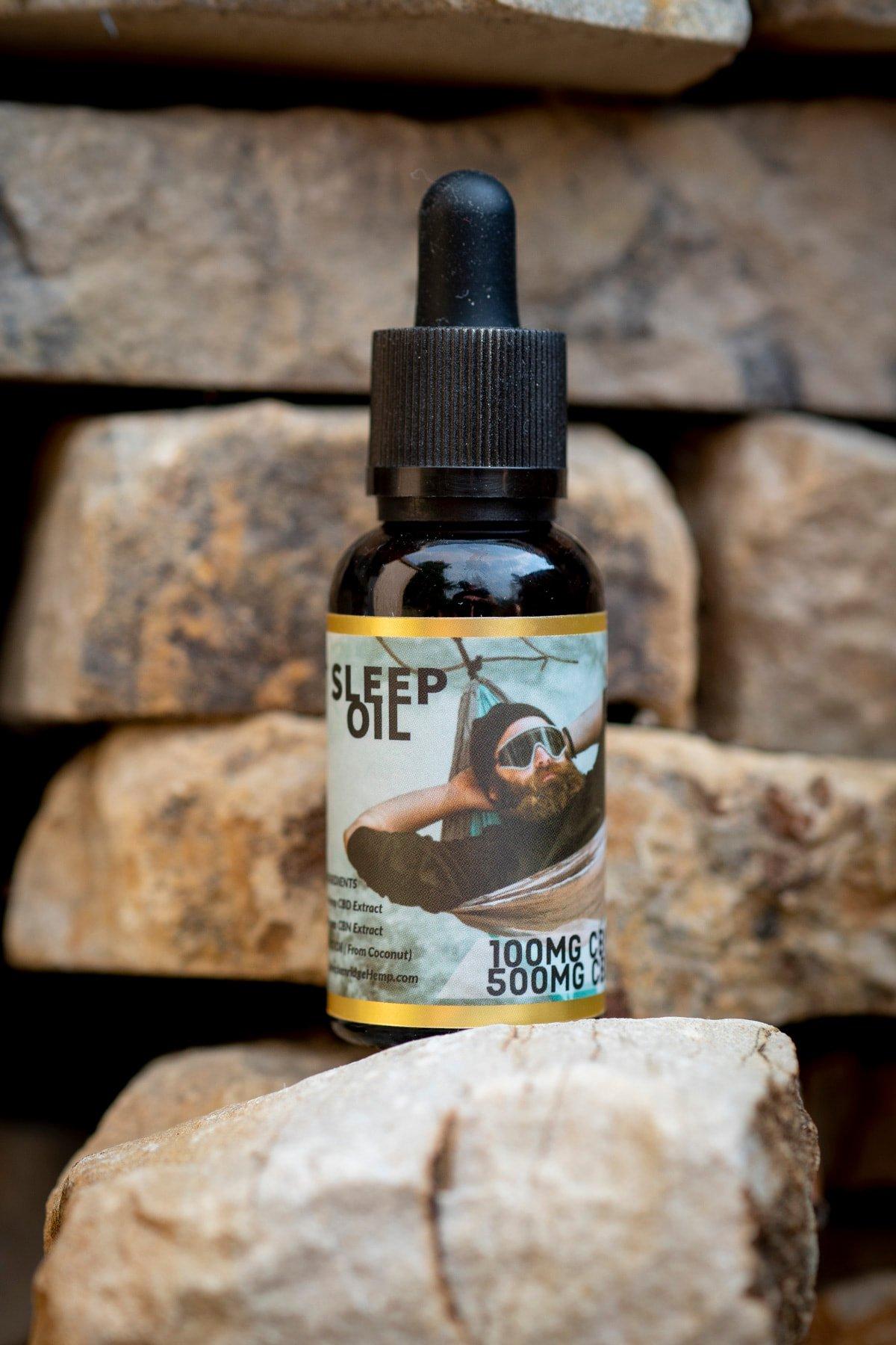 Breckenridge-500 mg CBD Sleep Oil